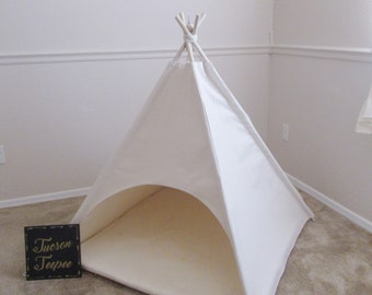 Anti-collpase Pet teepee with round door entrance,pet friendly designed ,dog teepee, cat teepee