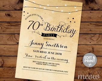 21st birthday invitation elegant twenty first invitations etsy