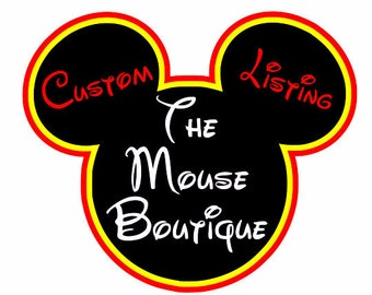 de9399abd7989 Where the magic begins no order too big or too by TheMouseBoutique