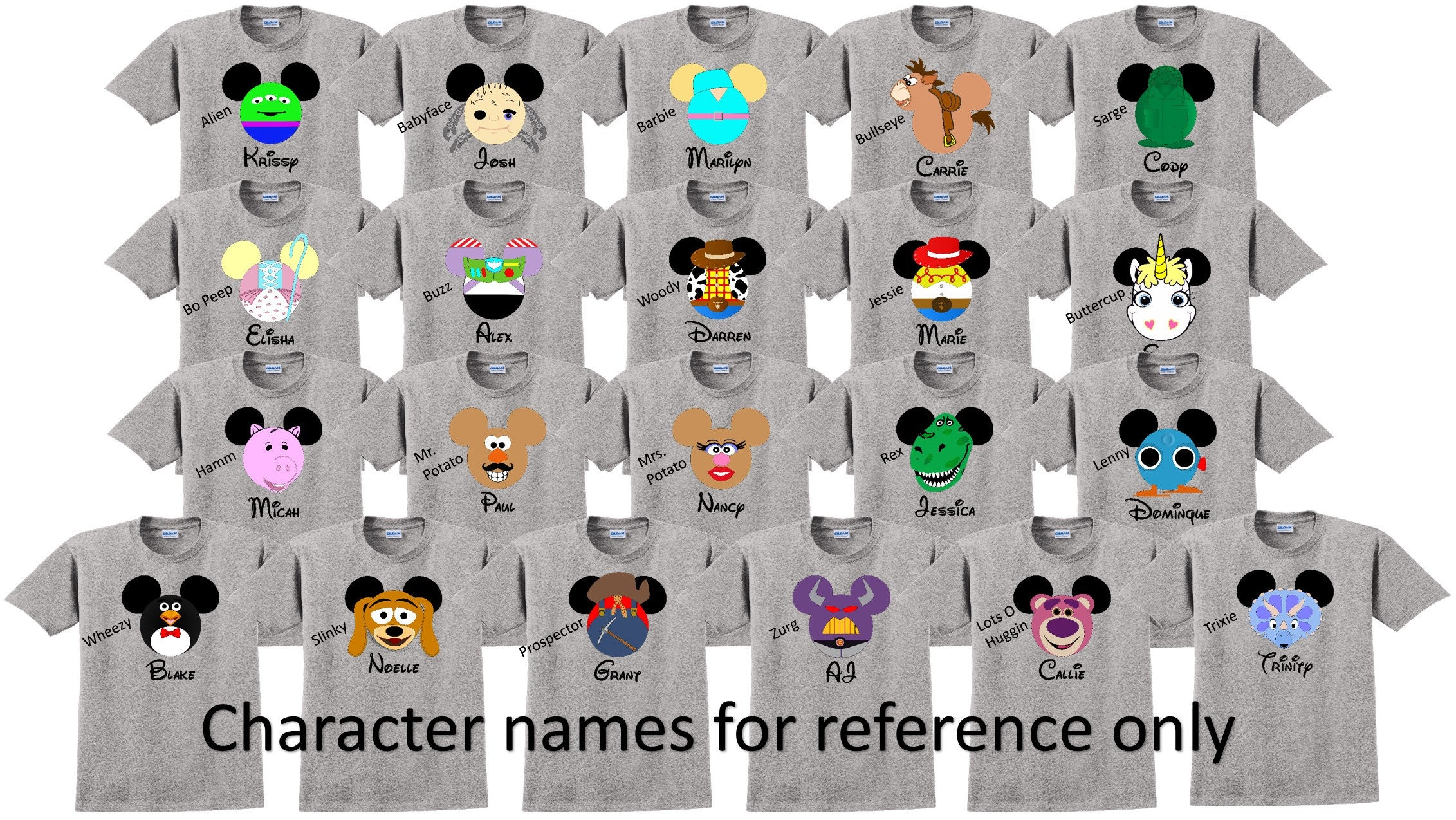 d9be0c24764 Disney Shirt TOY STORY SET Disney Vacation Disney Group Shirts