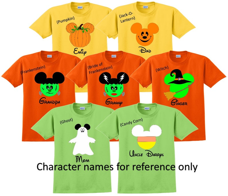 Disney Halloween Shirts Etsy.Disney Shirt Halloween Disney Vacation Disney Group Shirts Disney Matching Shirts Disney Personalized Shirts Disney Family Shirts