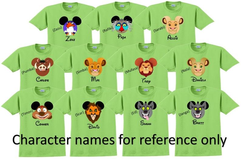 e3a069140 LION KING SIMBA Pumba Rafiki Disney Vacation Disney Group | Etsy