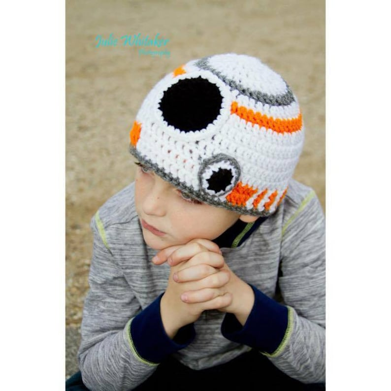 3c23f14272d Star Wars BB8 Crochet Beanie made to order all sizes