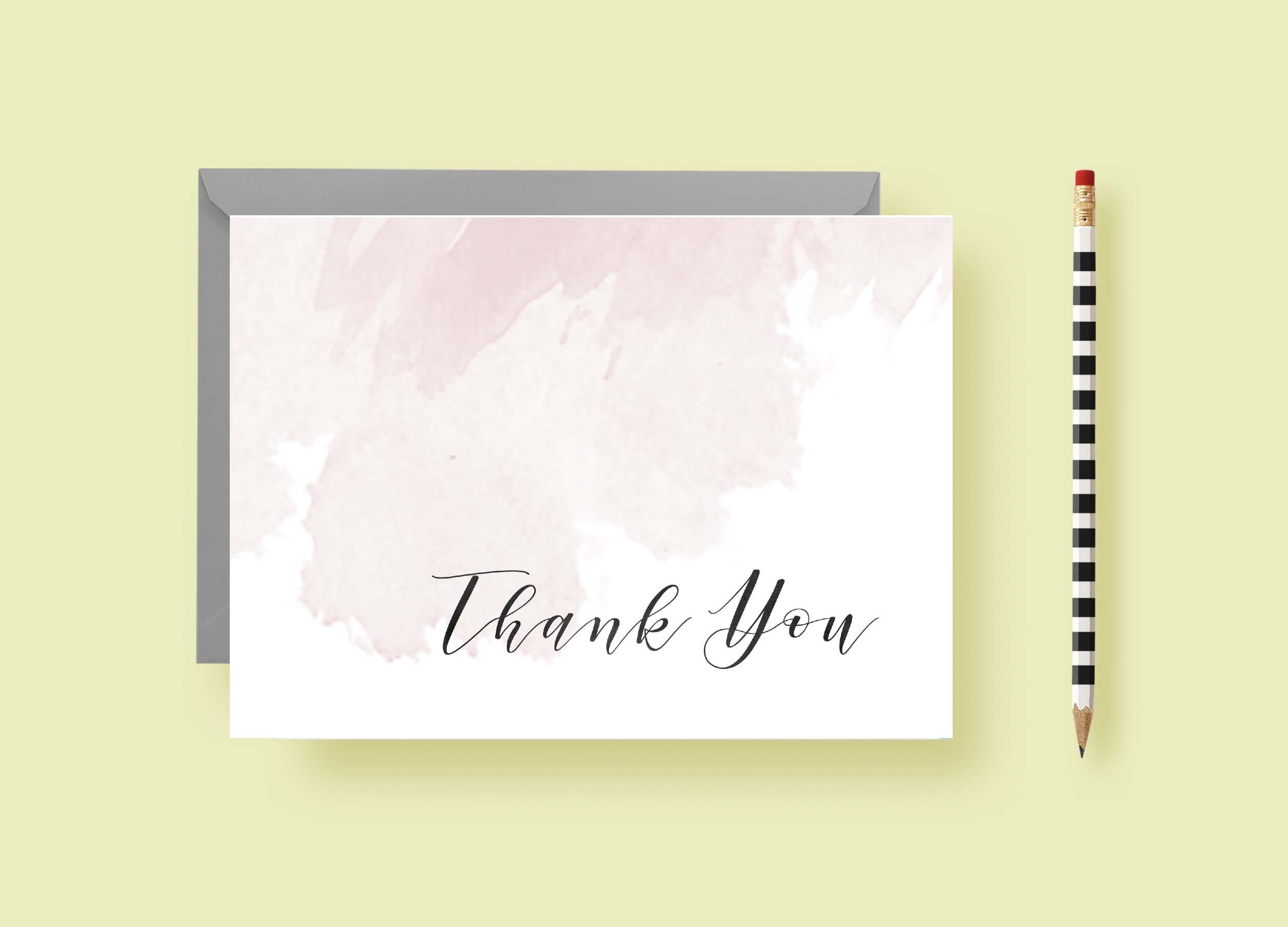 just a touch of watercolor wash stationery personlized notes thank you notes birthday gift personalized gift painting free shipping