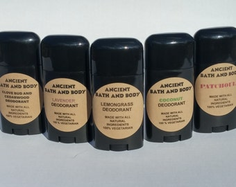 Pick your Scent Natural Deodorant, Artisan Deodorant, Handmade Deodorant, Chemical Free Deodorant, Aluminum Free Deodorant, Cruelty Free