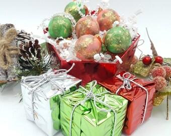 Christmas Soaps, GIFT Ready, Novelty Soaps, Christmas Novelty Soaps, Bath Gift, Soap Gift, Stocking Stuffer