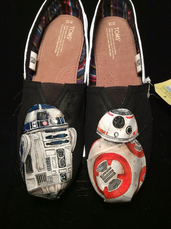 R2D2 and BB8 Custom Painted Toms