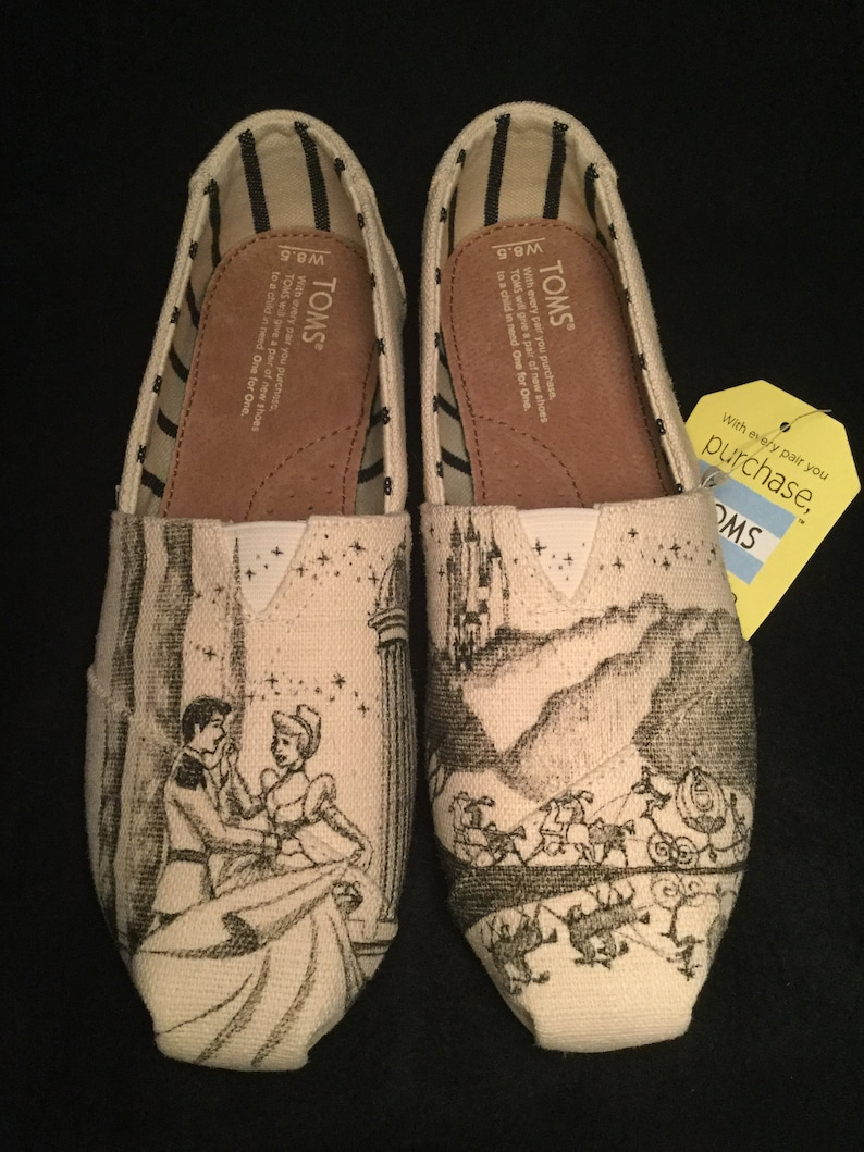 48300a1fb85 Cinderella Inspired Toms