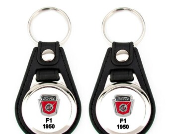 1950 F1 KEYCHAIN SET 2 pack