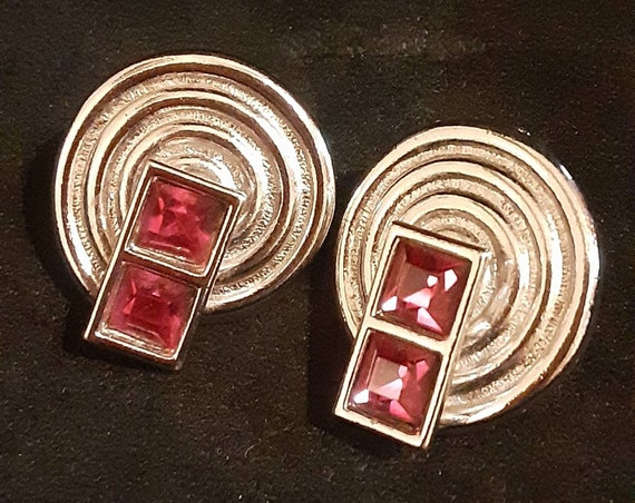 Vintage YSL earrings
