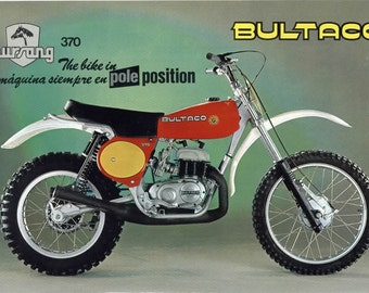bultaco pursang owners & operations motorcycle manuals 250 370