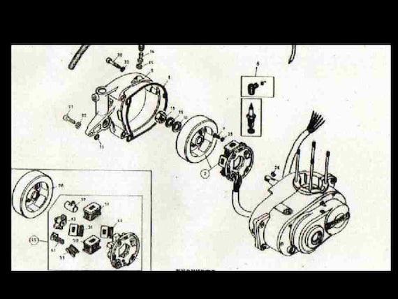 bultaco engine diagram wiring diagram table Magneto Wiring-Diagram