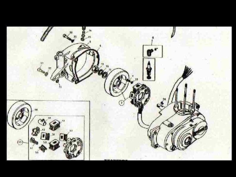 bultaco wiring diagram all wiring diagram Can Am Wiring Schematic