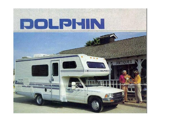 DOLPHIN Motorhome Operations Manual 610pgs for Toyota RV | EtsyEtsy