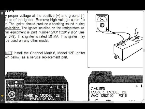 damon daybreak wiring diagram damon daybreak challenger intruder motorhome manuals 455pg etsy  damon daybreak challenger intruder