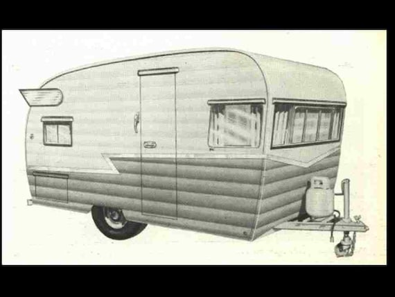 SHASTA Trailer RV Manual for Camper Appliance Service & Repair on