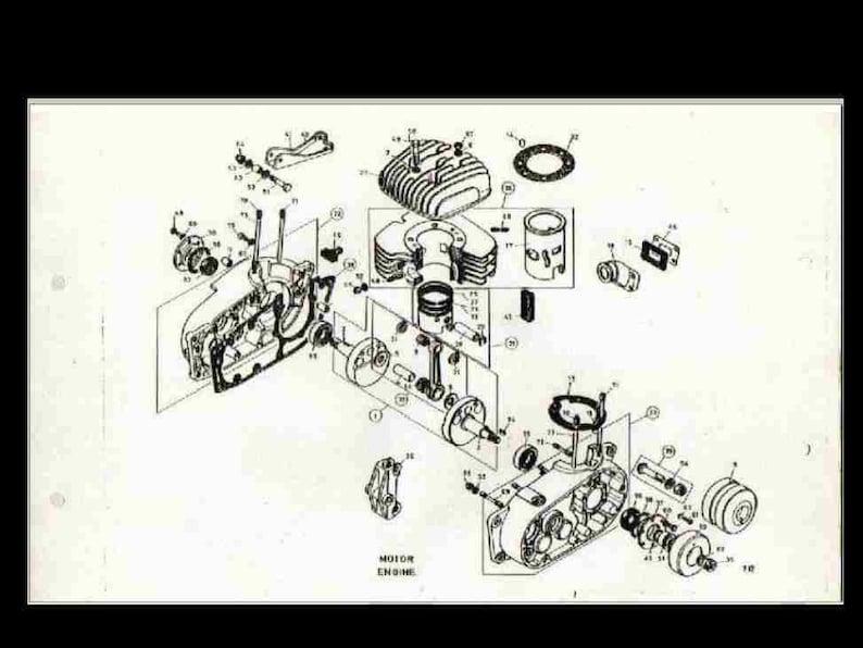 bultaco engine diagram schematic wiring diagram Bultaco Engine Rebuilding