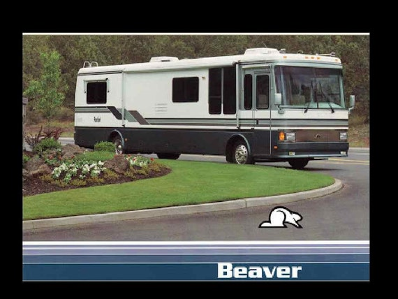 BEAVER 1990-1999 MOTORHOME MANUALs 470pg 1995 1996 1997 1998 | Etsy | Beaver Motorhome Wiring Diagram |  | Etsy