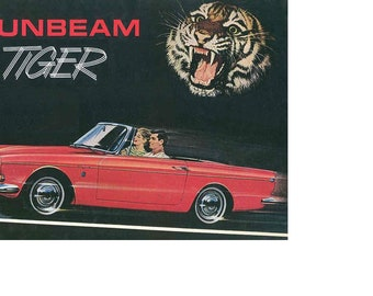 SUNBEAM TIGER 260 289 Workshop & Parts Manual 400pgs w/ Service Repair Tuning and Blueprints