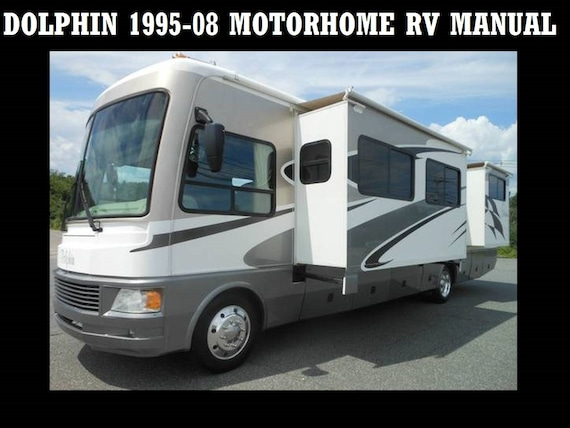 dolphin 1995 2008 motorhome manuals 550pgs for class a rv etsy rh etsy com motorhome manual downloads motorhome manuals for sale