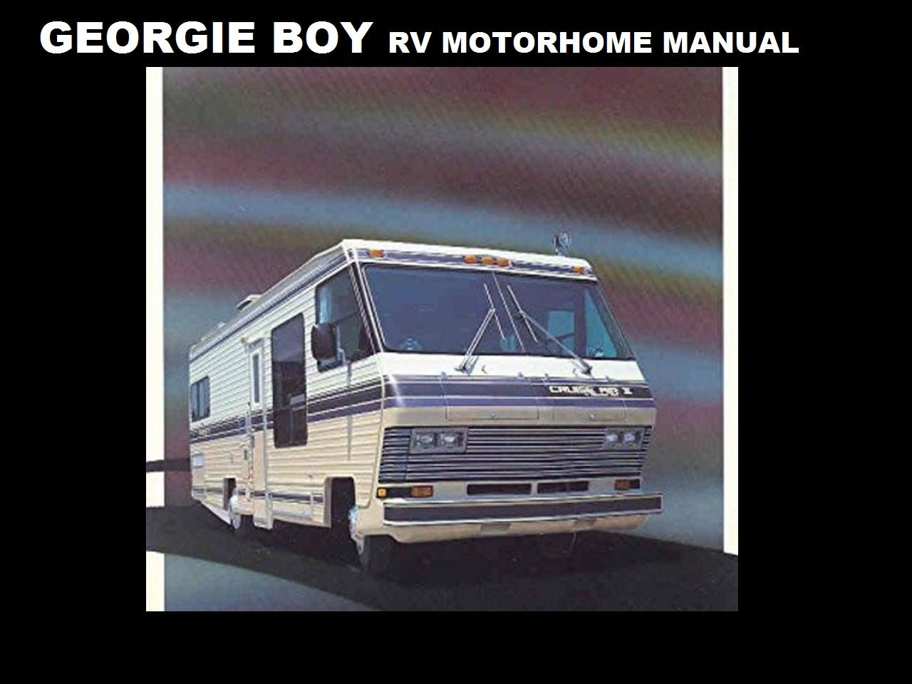 5915a5 Georgie Boy 1980 1990 Motorhome Manuals 410 Pgs With Rv Etsy Wiring Library