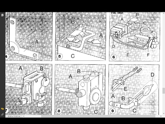 DAMON Daybreak Challenger Intruder Motorhome Manuals 455pg with RV on