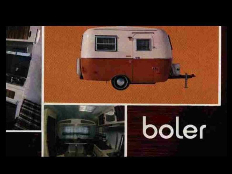 Admirable Boler Trailer Rv 1979 1980 Operations Tech Handbucher Fur Etsy Wiring 101 Tzicihahutechinfo