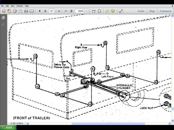 Hilo camper wiring diagram electrical drawing wiring diagram hi lo camper trailer service manuals 380pg for towlite rv rh etsy com camper wiring diagram 30a camper wiring diagram 30a asfbconference2016 Gallery