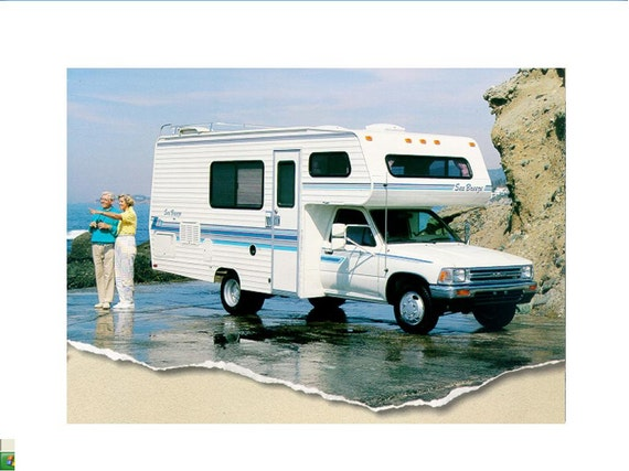 Seabreeze Motorhome Operations Manual For Toyota Rv Furnace Etsy. Wiring. Sea Breeze Motorhome Water System Diagram At Scoala.co