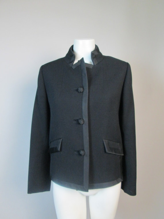 BEN ZUCKERMAN Vintage Couture Jacket.  Superb Deta