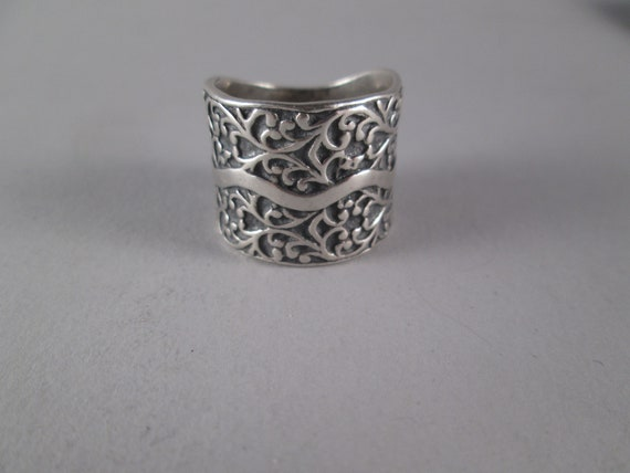 Exquisite STERLING 925 Repousse William Morris Sty