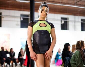 Compton Q x Rebirth Garments Space HyperMini Dress