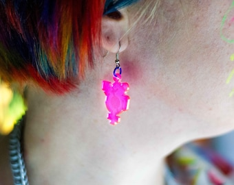 QUEERCRIP Symbol Earrings - Small