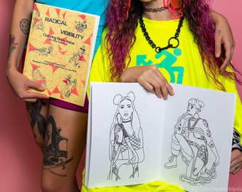 Coloring Book Issue of the Radical Visibility Zine
