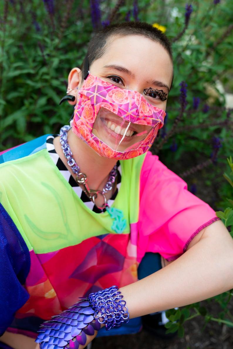 Window face mask Non-medical washable and adaptive customized image 0