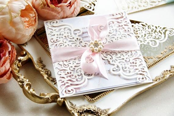 Laser cut wedding invitation template filigree svg dxf cdr stopboris Images