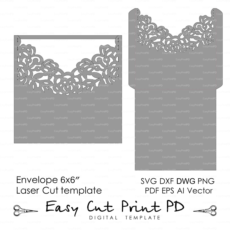 Invitación sobre patrón plantilla rosas encaje de la boda | Etsy