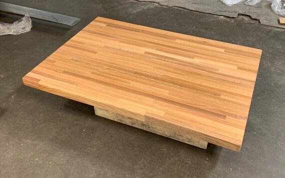 Red Oak Butcher Block Counter Top 1 5 X, Red Oak Desk