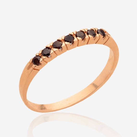 Gold Ring Minimalist ring 14k gold ring Onyx Ring Black stone ring Black Gemstone Ring Black onyx ring Onyx jewelry Stackable ring