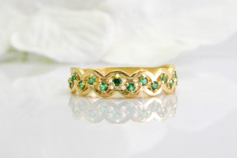 Mothers ring 14k gold any birthstones gemstone ring 14k gold band multi stone ring