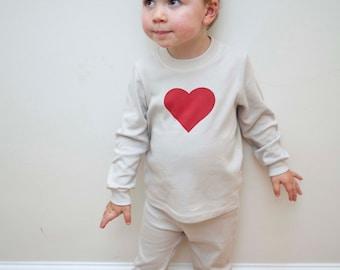 Organic cotton matching pyjama set Perfect new baby gift baby shower gift and gift for mum Mum and baby matching clothes