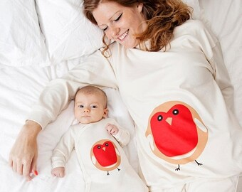 Maman et bébé, correspondance de vêtements - cadeau fête des mères. ensemble pyjama assorti. Nouveau bébé cadeau bébé douche cadeau parfait et un cadeau pour maman