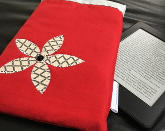 Padded Fabric Kindle Case
