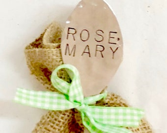 Rosemary Seeds Garden Spoon Marker/Seed Set