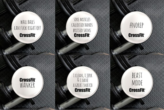 Weight Lifting Crossfit Wall Balls Can Fuck Right Off Crossfit Badge Keep Fit