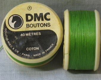 For buttons, green cotton cord