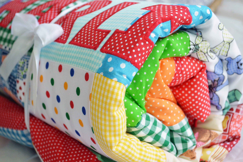 146cf914e9dd4 Unisex Baby Quilt, Baby Blanket, Personalised Baby Quilt, Unisex Baby  Duvet, Baby Bedding, Cot Duvet, Cot Blanket, Nursery Bedding, Baby