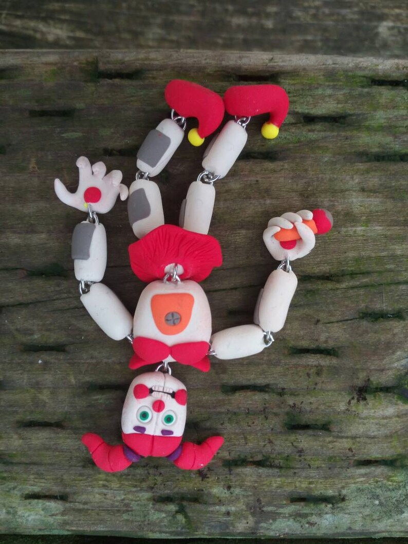 Baby Five Nights at Freddy's FNAF Character Key-Chain/ keychain art
