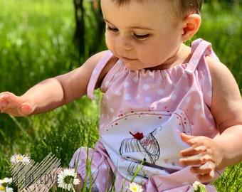 Schnittmuster (Ebook)  Jumpsuit (Gr. 56-86)  Baby, Nähanleitung und Schnittmuster in DinA4 und DinA2