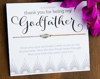 Best God Mother Father Godparent Shabby Chic Message Thank You Gift Tags
